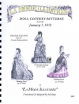 La Mode Illustree January 7, 1872 - 12 inch