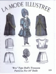 La Mode Illustree 1887 Bru-style Wardrobe Patterns