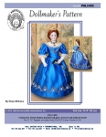 Ball Gown for French Fashion Doll